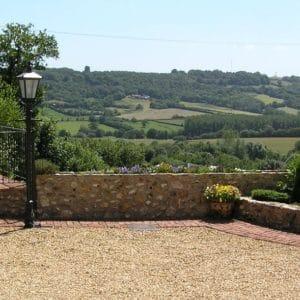 Jasmine cottage view