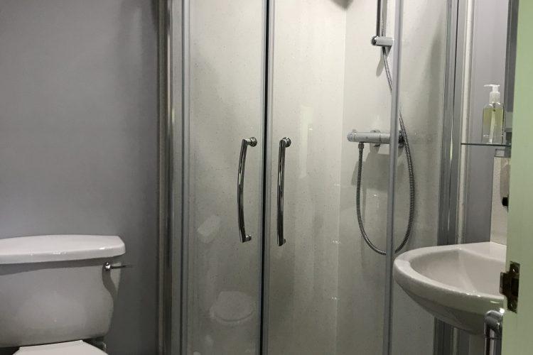 Wisteria cottage shower room